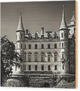 Dunrobin Castle Scotland Wood Print