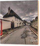 Dunsford Village Wood Print