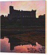 Dunvegan Castle At Dawn Wood Print