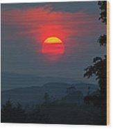 Dunvegan Sunset Wood Print