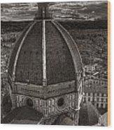 Duomo Dalla Campanile  Wood Print