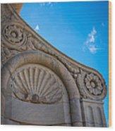 Duomo Detail Wood Print