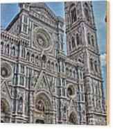 Duomo Di Firenze Wood Print