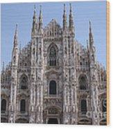 Duomo Di Milano Wood Print