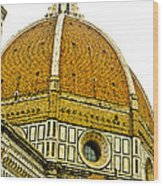 Duomo Florence Italy Wood Print