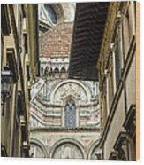 Duomo In Firenze Wood Print