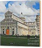 Duomo Of Field Of Dreams Wood Print