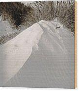 Duotone Dune Wood Print