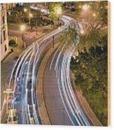Dupont Circle Traffic I Wood Print