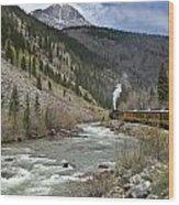 Durango And Silverton Rr Wood Print