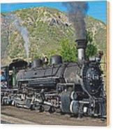 Durango To Silverton Train Wood Print