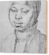 Durer Slave Woman, 1521 Wood Print
