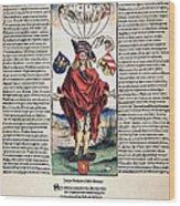 Durer: Syphilitic, 1496 Wood Print
