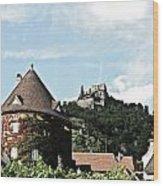 Durnstein Castle Wood Print