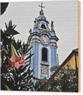 Durnstein Parish Church Wood Print