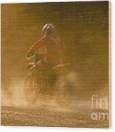 Dust And Dusk Wood Print