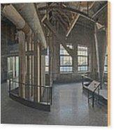 Dust Collectors Wood Print