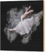 Dust Dancer Wood Print