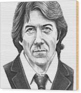 Dustin Hoffman Wood Print