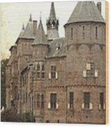 Dutch Castle Wood Print