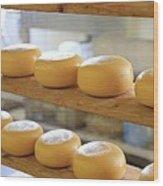 Dutch Cheese Wood Print
