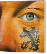 Dutch Royal Lion Wood Print