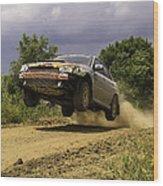 Dw Rally Team Takes Flight Wood Print