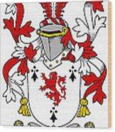 Dwyer Coat Of Arms Irish Wood Print