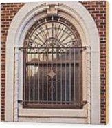 Dwyer Street Window Wood Print