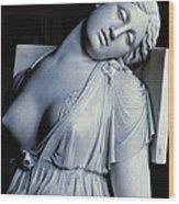 Dying Lucretia  Wood Print