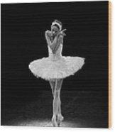 Dying Swan 5. Wood Print