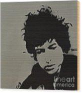 Dylan Spray Art Wood Print