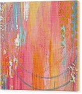 Dynamic Connection Wood Print by Debi Starr