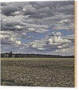 Dynamic Farmland Landscape Wood Print