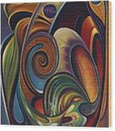 Dynamic Series #16 Wood Print