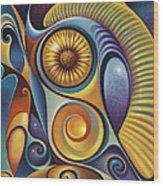 Dynamic Series #21 Wood Print