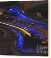 E-motional Afterglow Wood Print