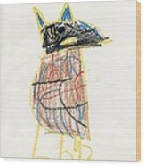 E's Crow Wood Print