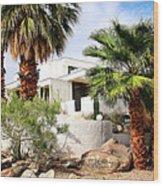E. Stewart Williams Home Palm Springs Wood Print