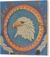 Spirit Of Sacred Healing - Mi Gi Si' Wood Print