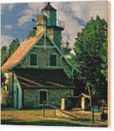 Eagle Bluff Light 2.0 Wood Print