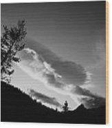Eagle Cap Wilderness Oregon Wood Print