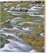 Eagle Creek Oregon Wood Print