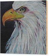 Eagle Eye Wood Print by Jeanne Fischer