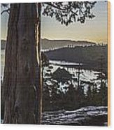 Eagle Falls Exploration Wood Print
