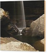 Eagle Falls Iv Wood Print