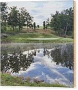 Eagle Knoll Golf Club - Hole Six Wood Print