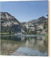 Eagle Lake Wood Print by Kenneth Hadlock