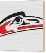 Eagle Mask II Wood Print