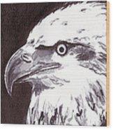 Eagle Wood Print